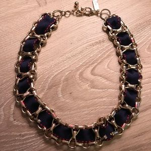 Navy Blue Necklace - The Limited